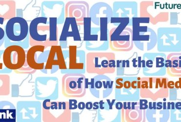 Socialize Local graphic